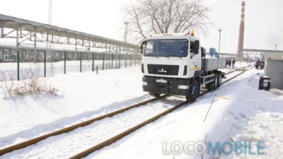 Локомобиль для компании РОСНЕФТЬ