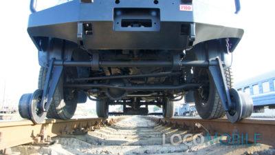 Передний комбиход локомобиля УАЗ ПИКАП