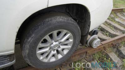 Привод колесный Тойота на рельсах