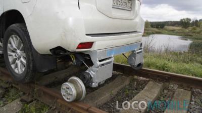 Колесная пара задняя локомобиля Тойота