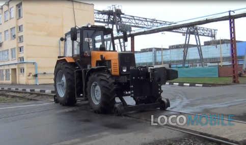 Маневровый рельсовый тягач РЕТРАК-1221 заводские испытания