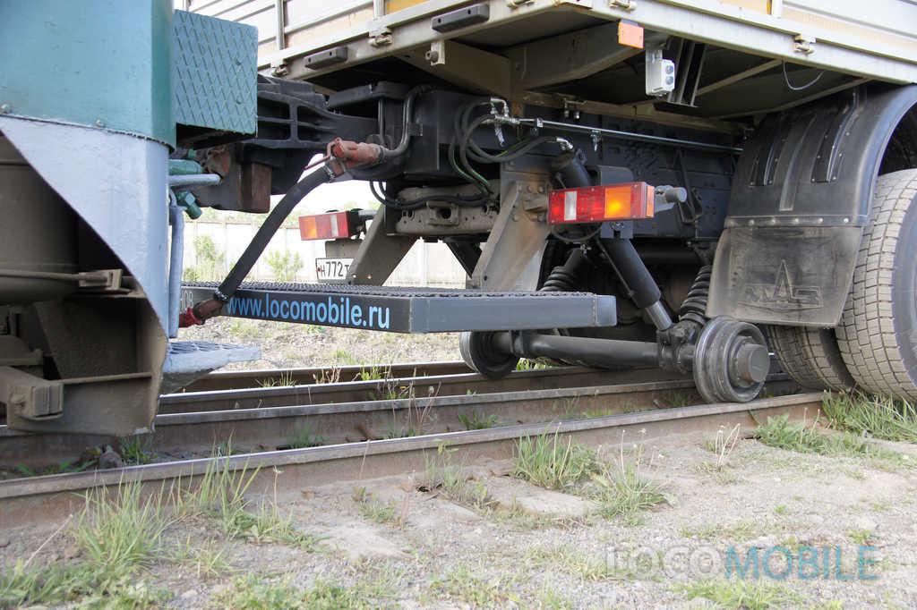 Комбинированный ход локомобиля МАЗ