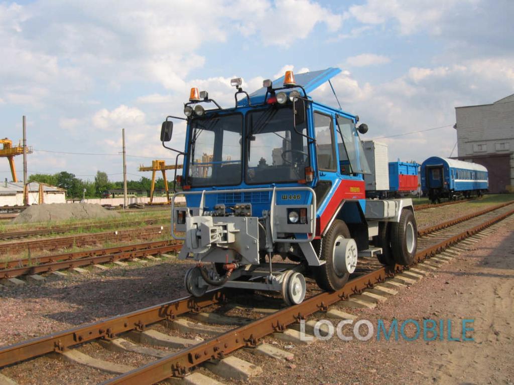 Тяговый модуль вагонов -3