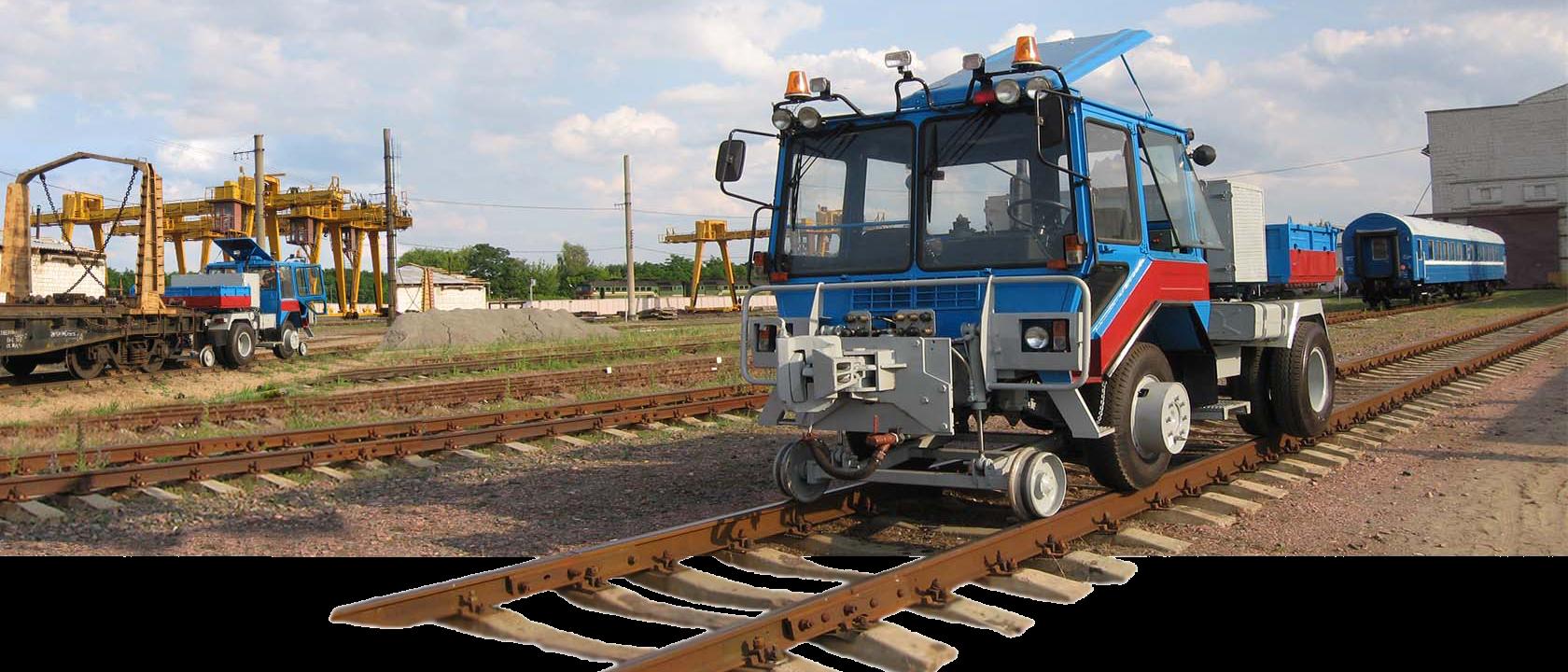 Тяговый модуль вагонов ТМВ - маневровый трактор